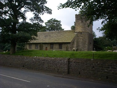 Picture of the St Michaels's church at Bracewell.