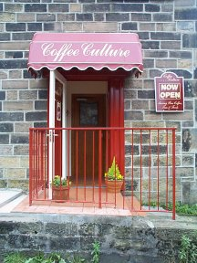 Picture of the entrance to Coffee Culture, Barrowford.