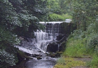 Picture of Waterfall near the Water Meetings in Roughlee