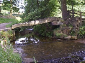 Old Iron Age Bridge at Wycoller