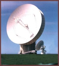 Picture of satellite listening dish